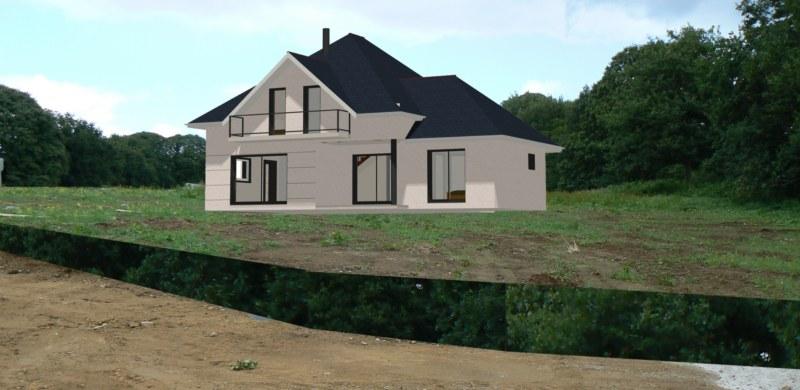 Maison neuve 15 - MPB Maîtrise d'oeuvre - Morbihan