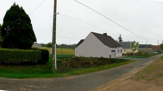 Maison neuve 19 - MPB Maîtrise d'oeuvre - Morbihan