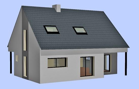 Maison neuve 20 - MPB Maîtrise d'oeuvre - Morbihan